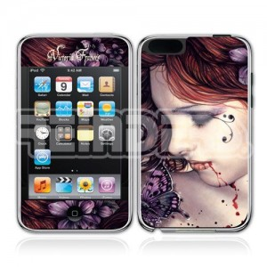 17949 Victoria Frances butterfly iPod skin