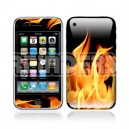 18334 Fire iPhone skin
