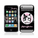 19005 Rebecca Bonbon super stylish girl iPhone skin