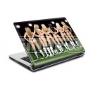 17903 Football girls Laptop 15 skin