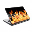 18049 Fire Laptop 10 skin